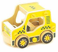 Дерев'яні конструктори - іграшка для дітей Таксі