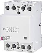 Модульный контактор ETI RA 40-40 40А 4NO 230V 2464095