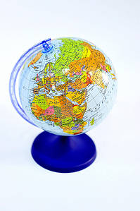 Глобус настольный 220 мм политический в картонной коробке (рус.) BST 540080