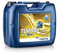 Масло трансмісійне Neste Turbo+ E6 10W-40 (20 л.) синтетична (було Turbo E6 10W-40)