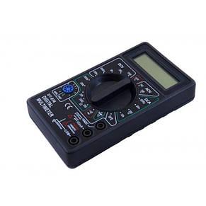 Мультиметр тестер вольтметр амперметр DT-838 + термопара + щупы + крона, фото 2