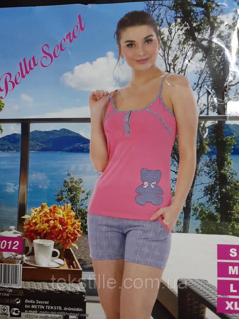 Піжама жіноча шорти Bella Secret M