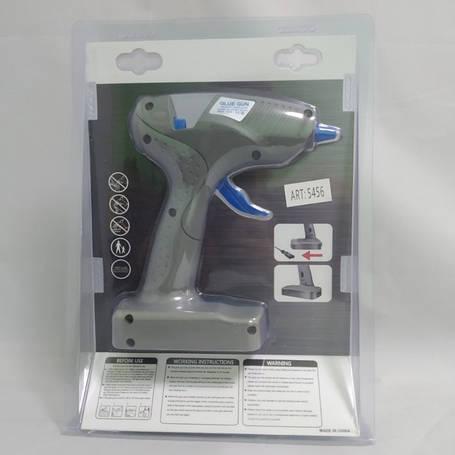 Пистолет для силиконового клея S 609 от сети 220v + Клеевые стержни, фото 2