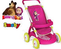 Оригинал. Коляска прогулочная для куклы Маша и Медведь Smoby 254001