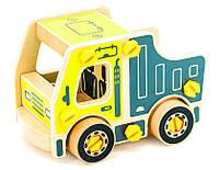 Дерев'яні конструктори - іграшка для дітей Самоскид