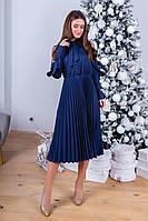 Женское красивое платье с плиссированной юбкой, фото 1