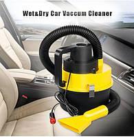 .Автомобільний порохотяг для сухого та вологого прибирання The Black multifunction wet and dry vacuum