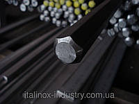 Нержавеющий шестигранник AISI 304 17 мм