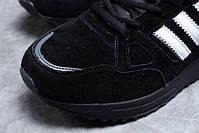 Мужские зимние кроссовки Adidas ZX 750 высокие на меху, фото 5