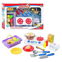 """Игрушечная посуда """"Веселый поваренок"""" Joy Toy 5349 D"""