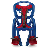 BELLELLI Pepe Сlamp Дитяче велокрісло на багажник до 22 кг SAD-25-76 Electric Blue