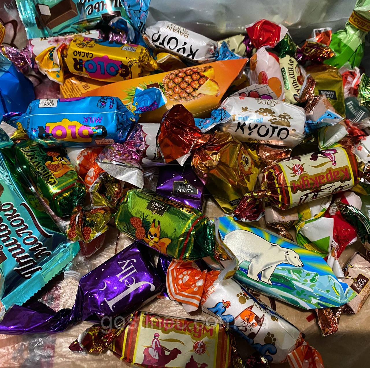 Асорті цукерок Баян Сулу