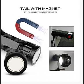 Аварийный фонарь XBalog BL881 T6 для авто с магнитом фонарик, фото 3