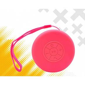 Портативная Bluetooth колонка Bluetooth JEDEL Wave-119 Розовая, фото 2