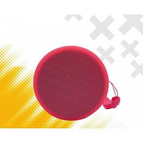 Портативная Bluetooth колонка Bluetooth JEDEL Wave-119 Розовая, фото 3