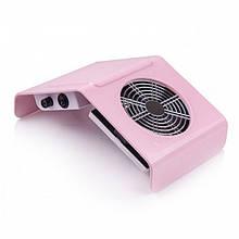 Вытяжка для маникюра Nail Dust Collector BQ-858-2A 30 Вт Розовая