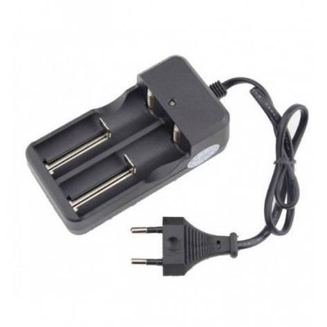 Зарядное устройство для 2-х 18650 Li-ion аккумуляторов 4.2V MD-282A, фото 2