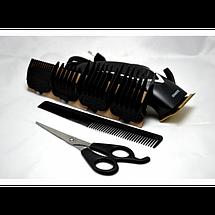 Профессиональная машинка для стрижки волос Gemei GM-809 9W, фото 2