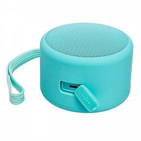 Портативная Bluetooth колонкаBluetooth JEDEL Wave-119 Бирюзовая, фото 3