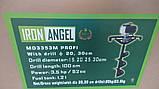 Мотобур Iron Angel MD 3353 PROFI, фото 3