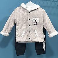 Детский утепленный костюм Мишка (на рост 68 см 6-9 мес ), фото 1