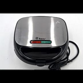 Гриль, бутербродница, вафельница, орешница Мультимейкер Domotec MS-7704, 1000Вт, фото 3