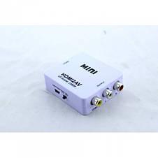 Адаптер HDMI to AV RCA переходник конвертер 720p/1080p, фото 2