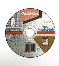 Круг відрізний тонкий з нержавіючої сталі 125х1.0х22.2мм Makita