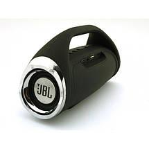 Портативная FM MP3 колонка JBL Boombox mini bluetooth microSD/TF и USB Чёрный, фото 3