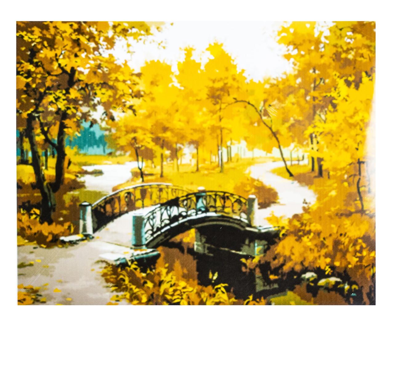 Картина по номерам Осень, размер 40х50