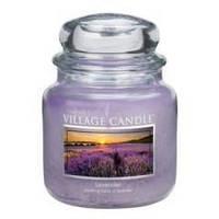 Аромасвеча ТМ Village Candle Лаванда (время горения до 105 часов)