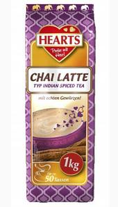 Гарячий питної шоколад, Hearts Chai Latte, розчинний напій, 1 кг