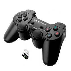 Геймпад бездротовий USB Esperanza Gladiator (EGG108K) Black
