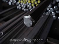 Нержавеющий шестигранник AISI 321 08Х18Н10Т 27 мм