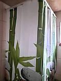 Штори на ванну кімнату розсувні 240х200 см Тропік з прийняте бамбук, фото 4