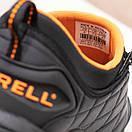 Мужские кроссовки Merrell Vibram Black Orange / Мэррелл Вибрам Чернные Оранжевые Термо, фото 5
