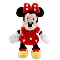Мягкая игрушка Дисней красная (Disney) Минни Маус Mini Bean Bag - Red—  22 см