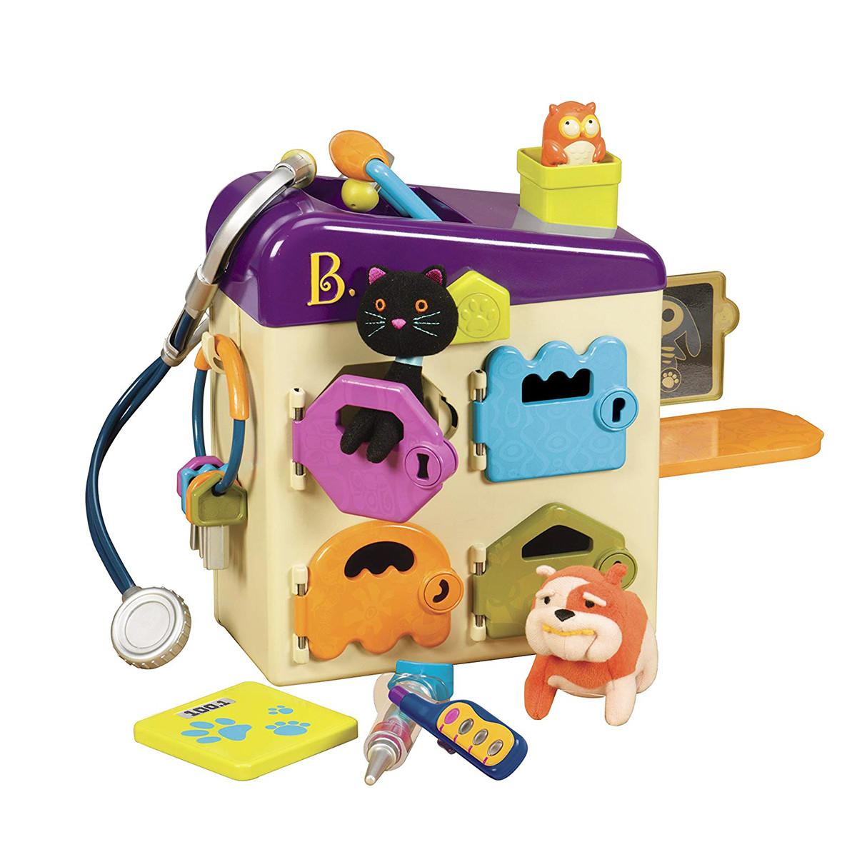 Игровой Набор - Ветеринарная Клиника Мяу-Гав Battat Pet Vet Toy - Doctor Kit BX1229Z