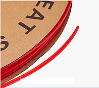 Термоусадочная трубка d=4мм красная