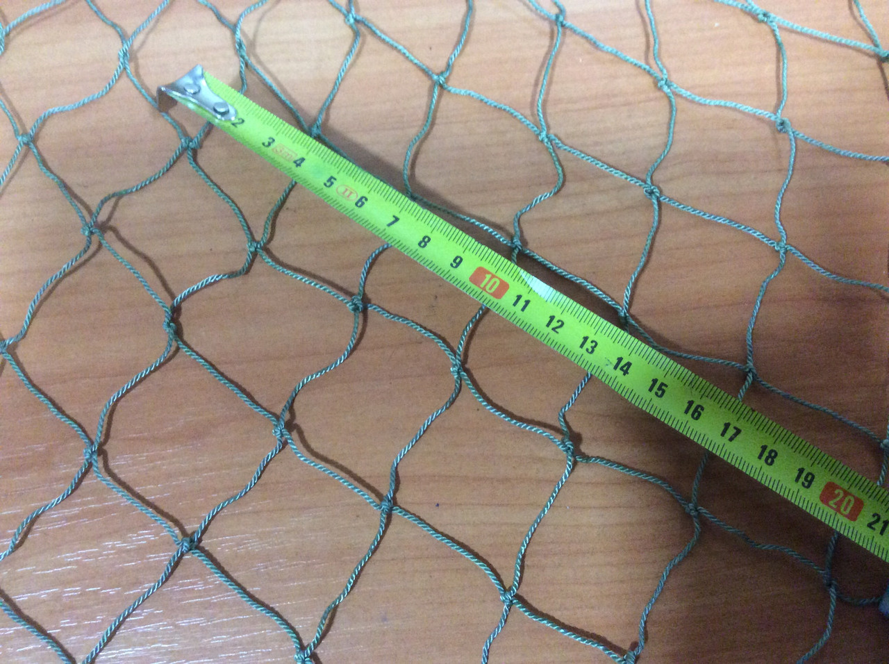Сетка капроновая ячейка 40мм нитка 1,2 размер 0,9х 10,0м