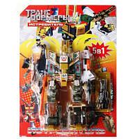 Робот трансформер Истребитель 5 в 1