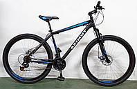 """Велосипед горный азимут  Energy 29"""" 19"""" рама FRD, черно-синий, фото 1"""