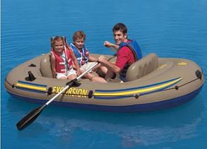 Надувная лодка Excursion 3 Set Intex 68319 (262х157x42 см. ), фото 2