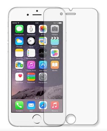 Гідрогелева захисна плівка на iPhone 6 на весь екран прозора, фото 2
