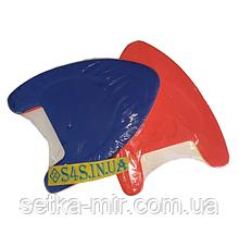 Доска для плавания EVA PL-5920 (EVA, р-р 39x27x4см, цвета в ассортименте) Красно-синий