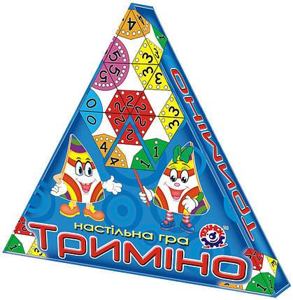 Настольная игра для детей «Тримино» ТЕХНОК (2827), фото 2