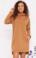 Теплое платье оверсайз  В 036/01, фото 1