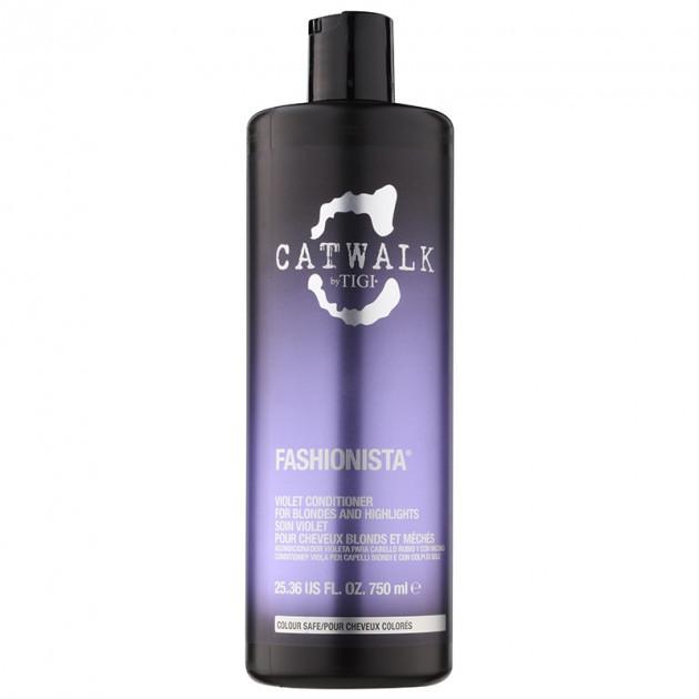 Кондиционер для блондинок Tigi Catwalk Fashionista Violet Conditioner 750мл