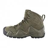 Заниженные ботинки тактические на мембране реплика ESDY Alligator олива, фото 2