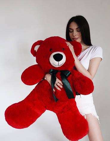 Плюшевий Ведмедик Червоний 120см, фото 2